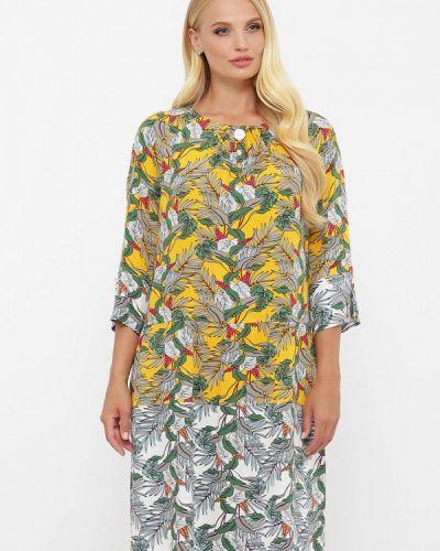 Платье - желтое Vlavi