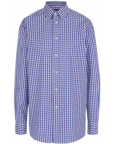 Блузка в клетку хлопковая Ralph Lauren
