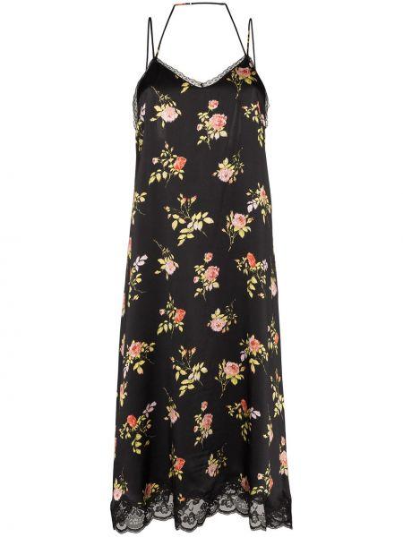 Платье платье-комбинация с цветочным принтом R13