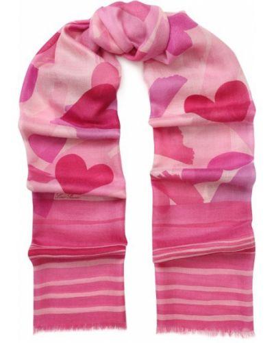 Розовый шарф Loro Piana