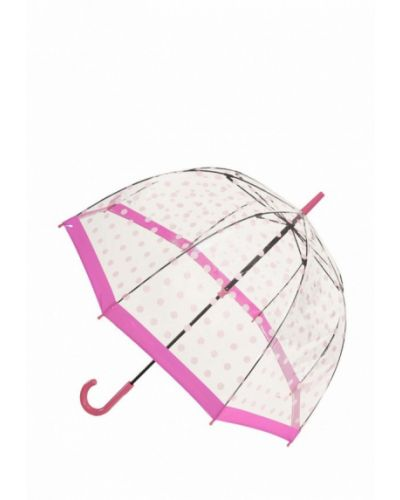 Зонт-трость розовый Fulton