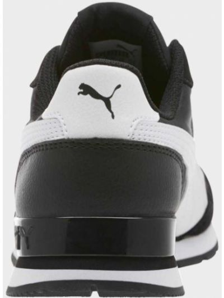Кожаные кроссовки для бега - черные Puma