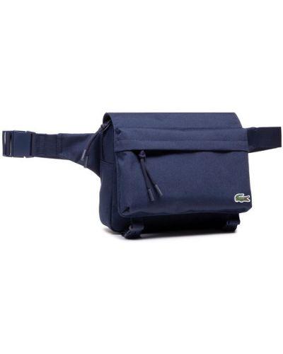 Plecak granatowy Lacoste