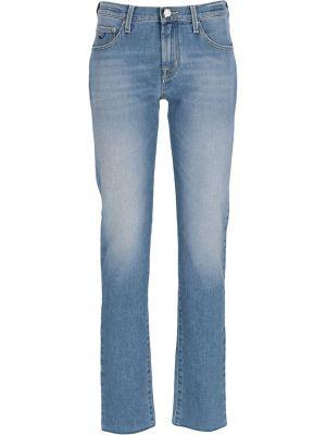 Синие хлопковые джинсы Jacob Cohen