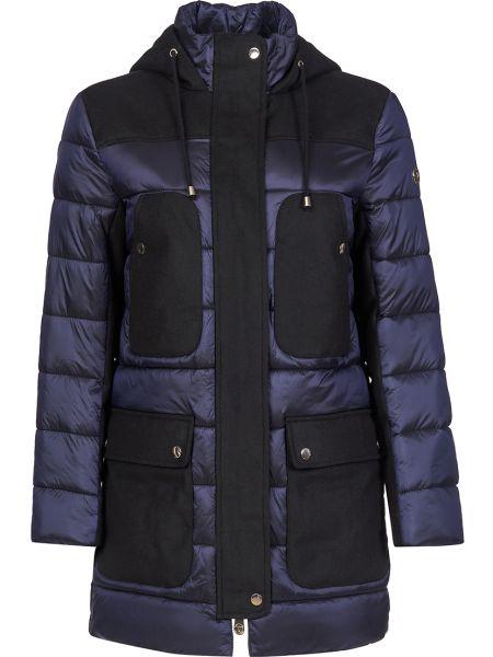 Куртка из полиамида - синяя Trussardi Jeans