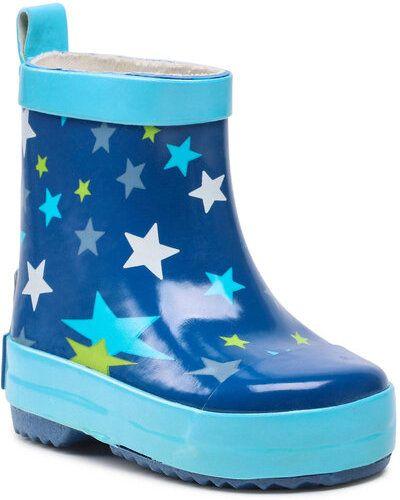 Niebieskie kozaki Playshoes