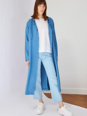 Niebieska narzutka Trendyol