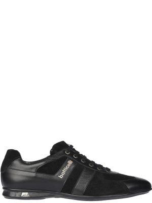 Кроссовки замшевые черные Roberto Botticelli