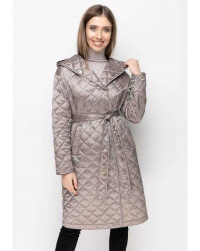 Стеганое пальто - серое Samange