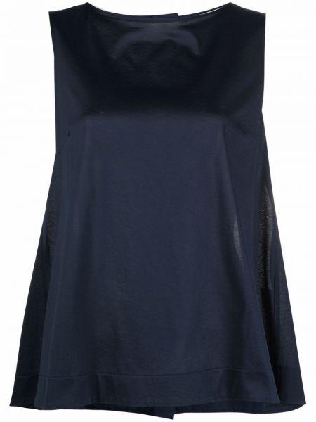 Блузка без рукавов - синяя Circolo 1901