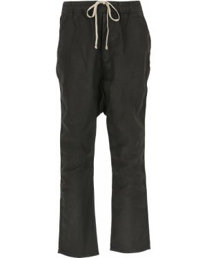 Czarne spodnie bawełniane Drkshdw