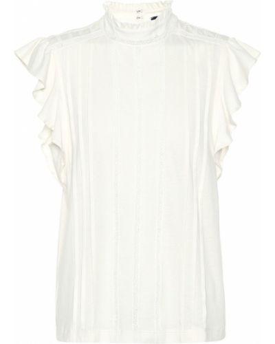 Bawełna biały bawełna top amerykański Polo Ralph Lauren