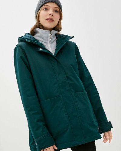 Зеленая утепленная куртка Termit