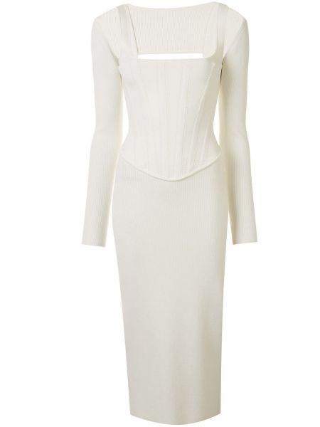 Облегающее платье с вырезом Dion Lee