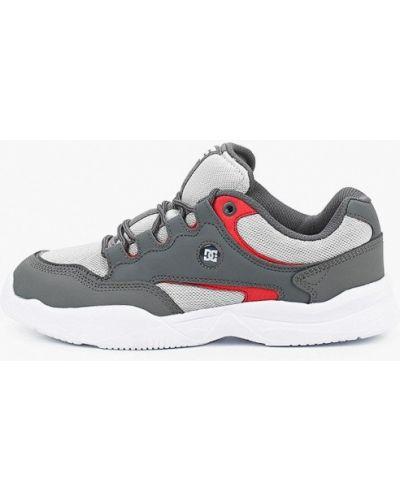 Кожаные кроссовки - серые Dc Shoes