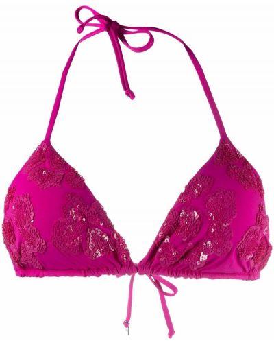 Розовые пляжные бикини с вырезом Fisico