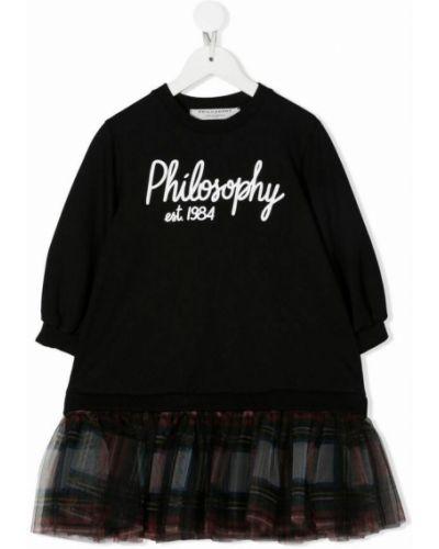 Czarna sukienka Philosophy Di Lorenzo Serafini