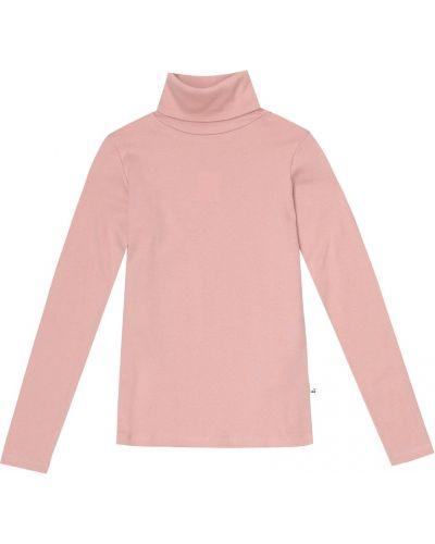 Ватный хлопковый розовый топ Bonpoint