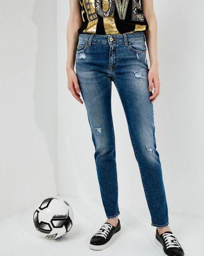 Синие джинсы-скинни Just Cavalli