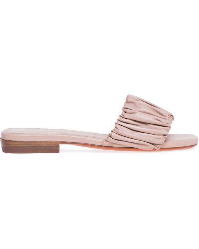 Różowe sandały casual Santoni