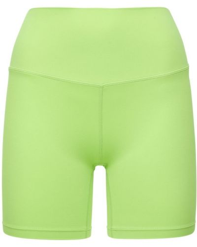 Зеленые джинсовые шорты Splits59