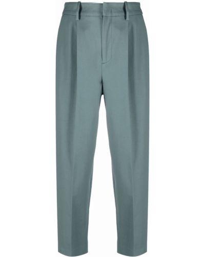 Укороченные брюки - зеленые Pt01