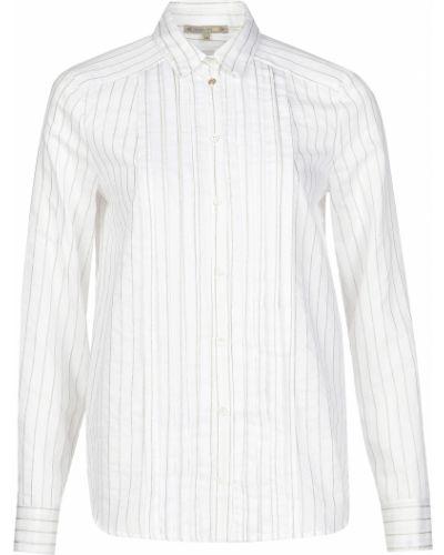Хлопковая рубашка - белая Patrizia Pepe