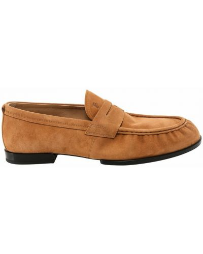 Loafers - beżowe Tod's