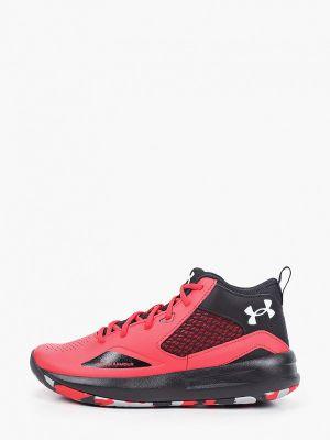 Низкие кроссовки - красные Under Armour