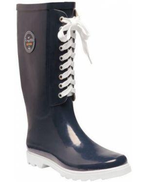 Ботинки на каблуке синий Regatta