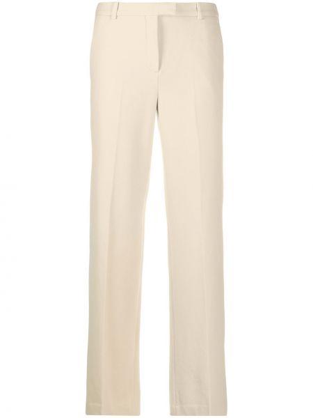 Хлопковые расклешенные брюки с потайной застежкой Circolo 1901
