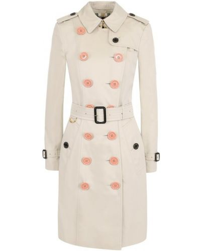Пальто розовое бежевое Burberry