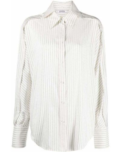 Шелковая рубашка оверсайз на пуговицах Krizia