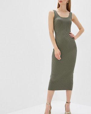 Платье платье-майка зеленый форма