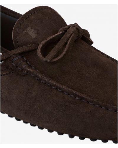 Loafers - brązowe Tod's