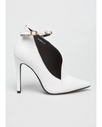 Туфли на каблуке с острым носком на шпильке Answear