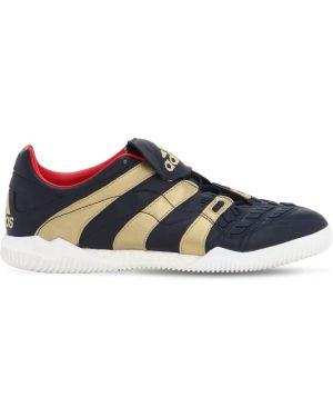 Sneakersy sznurowane koronkowe Adidas Football