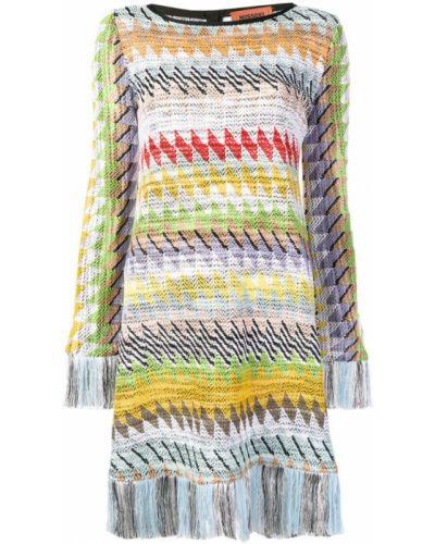 Платье с вышивкой с бахромой Missoni