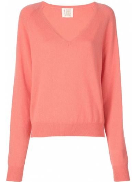 Розовая рубашка с разрезом A Shirt Thing