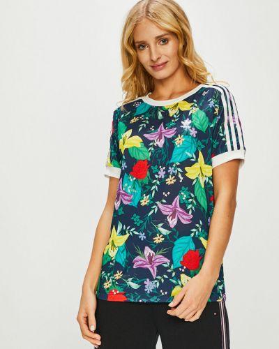 Футболка прямая трикотажная Adidas Originals