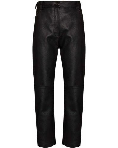 Черные брюки из вискозы Stella Mccartney