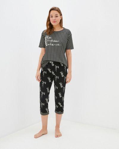 Пижамная черная пижама Hays