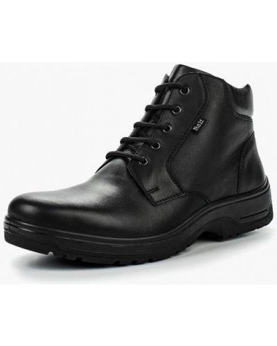 Кожаные ботинки осенние черные Ralf Ringer