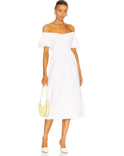 Льняное платье - белое Alc