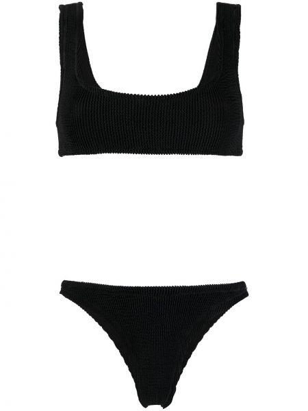 Czarny bikini z wysokim stanem Reina Olga