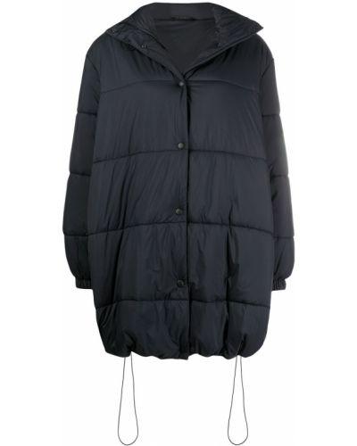 Черный пуховик с капюшоном на молнии Givenchy