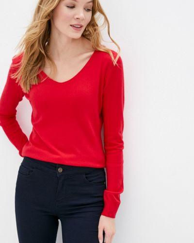 Красный пуловер B.style