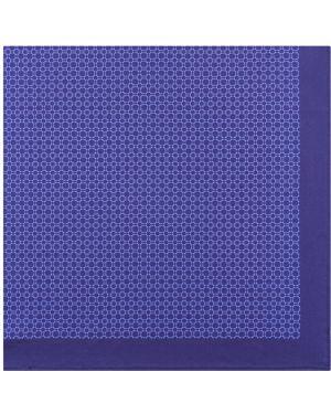 Платок нагрудный синий Henderson