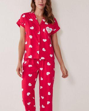 Пижама пижамный красная Women'secret
