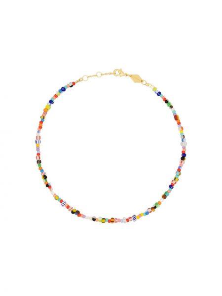 Золотистый желтый браслет позолоченный Anni Lu